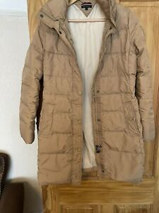 Tommy Hilfiger Small 8 jacket coat padded down puffer Camel Colour Knee Long GBP 19.99