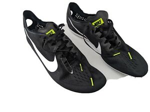 Nike Zoom Victory 3 Track amp; Field Running Shoes Mens 13 Black White No Spikes