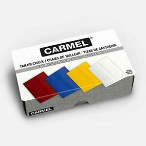 Carmel Tailors Chalk Box of 48 Yellow Super Glide Tailor Crayon Wax Based Fab... $21.96