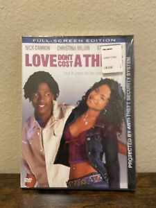 Love Dont Cost a Thing DVD 2004 Full Screen $9.99