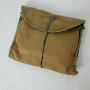 Vintage Olive Green Fabric Military Sewing Kit $14.99