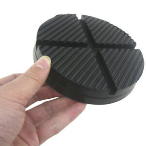 Jack Pads Rubber Pad Adapter Car Truck Cross Slotted Frame Rail Floor Universal $6.96