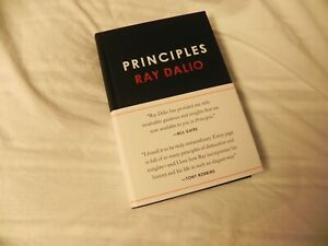 New Principles: Life and Work Ray Dalio Hardcover Business Decision Making BOOK $16.95