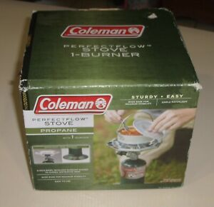 Coleman Camping Gear One Burner Perfect flow Stove Propane