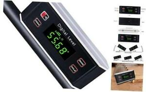 Electronic Inclinometer Digital Protractor Level Angle Finder and Gauge Tools $41.75