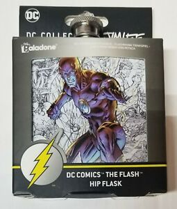 DC Comics The Flash Hip Flask 6 oz DC Collection by Jim Lee Paladone New