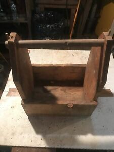 **ANTIQUE WOODEN TOOL CARRIER** $149.99