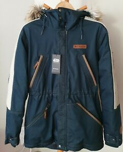 Columbia Star Wars Rogue One Captain Cassian Andor Rebel Parka NWT Size M