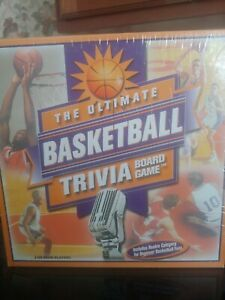 Sports Fun Games Outset Media The Ultimate Basketball Trivia Board Game 2001 NEW $14.95