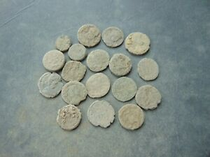 18 pieces to be cleaned Roman Follis LOT $24.00