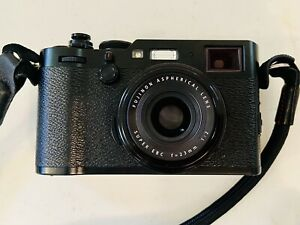 Fujifilm X100F 24.3MP Mirrorless Camera with 23 mm Lens Black With Accessories