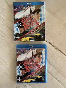 """OOP Rare """"Speed Racer� Blu ray Disc 2008 3 Disc Set With Inserts DVD Game $25.00"""
