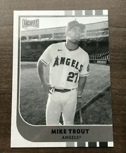 2021 Topps Archives Snapshots Base Card Black and White Parallel Pick your Card $3.99