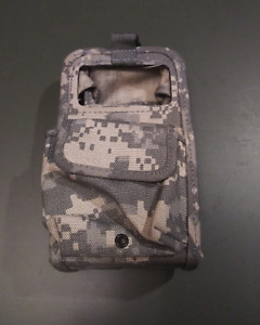 2x Army Camo Pouch Case For Phones Radios GPS etc