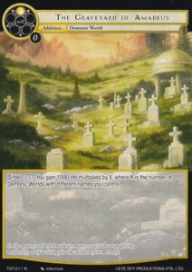 Force of Will The Seventh The Graveyard of Amadeus TST 011 N $1.25