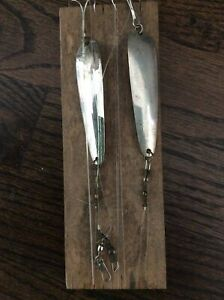 Set of 2 Vintage 44 SUTTON CO NAPLES NY Fishing Lures on Board Never Used