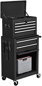 ERGOMASTER 6 Drawers Rolling Tool Chest High Capacity Tool Storage Cabinet with $90.99