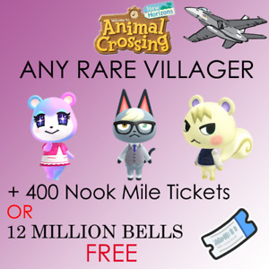 Any *RARE* Villagers In BOXES ready to move to your island. 40 items $5.99