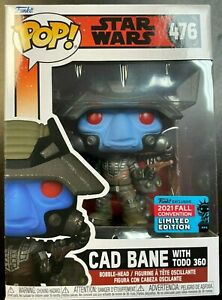 IN HAND FUNKO POP STAR WARS CAD BANE WITH TODO 360 NYCC 476 $49.94