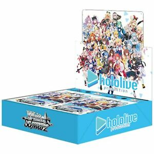 Weiss Schwarz Hololive Production Booster Box Pack Japanese TCG Ships from US $120.00
