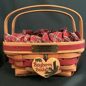 Longaberger Basket 1993 Christmas Collection quot;Bayberryquot; $35.00