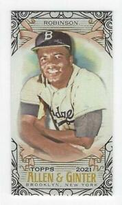 2021 Topps Allen Ginter Mini Black 1 350 Complete Your Set You Pick $2.99