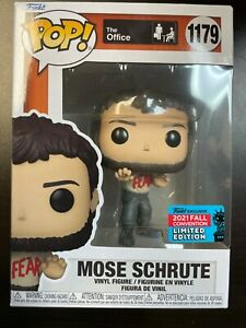 Funko POP Mose Schrute 1179 The Office pop NYCC IN Hand $29.99