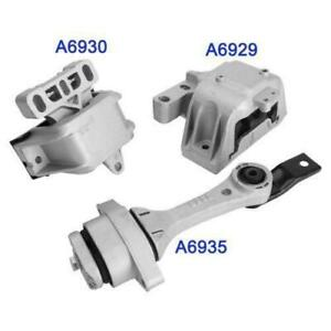 3pcs Rear amp; Front Right Motor Trans Mounts For VW GOLF JETTA A6929 A6930 A6935 $63.91