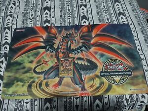 Darkness Metal The Dragon Of Dark Steel Back To Duel Playmat Ots NM NEVER... $148.00