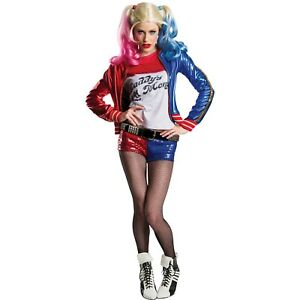 Charades Women#x27;s Suicide Squad Harley Quinn Costume Size XS 1 DAY SHIP NOW