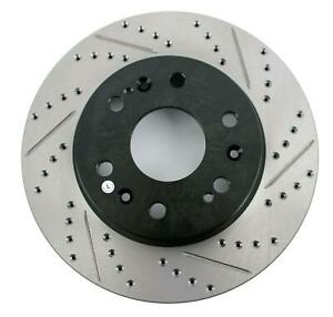 StopTech SportStop Drilled and Slotted Brake Rotor 127 66057L $176.58