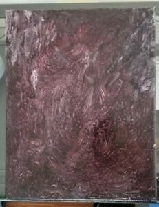 Le Rien Sombre 11x14 original oil painting signed nothing is seen in the dark $50.00
