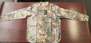 Under Armour Camo Hunting Fishing Long Sleeve Button Down Shirt Realtree 3XL