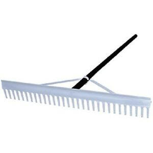 "24"" Field – Aggregate Landscaping Professional Rake"