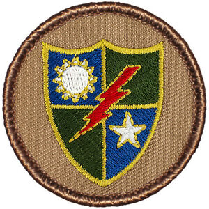 Great Boy Scout Patrol Patch The 75th Rangers Patrol #547