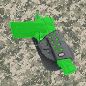 Fobus Evolution Paddle Holster for 1911 Style Hand Guns With Rail - KMSP