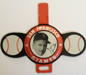 1958 Armour San Francisco GIANTS Tab Don Mueller