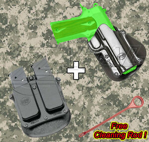 Fobus 1911 Style Handguns Combo Holster Mag. Pouch Kit - C-21 4500