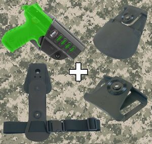 Fobus Ruger SR22 Combo Roto Holster Interchangeable Attachment Kit - SR22 RT
