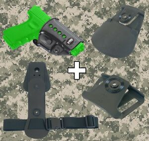 Fobus Glock Combo Roto Holster Interchangeable Attachment Kit - GL2ND RT BH EX