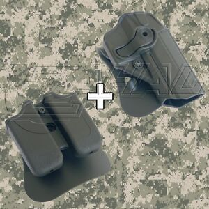IMI Defense - JerichoBaby Eagle FS Roto Combo Holster Mag. Pouch Kit - 1270 MP3