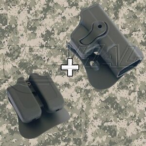 IMI Defense - Glock 19  23  32 Roto Combo Holster Mag. Pouch Kit - 1020 MP00