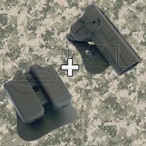 IMI Defense - 1911 Variants Roto Combo Holster Mag. Pouch Kit - 1030 MP01