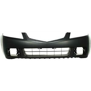 NEW Primered Front Bumper Cover Replacement Fascia for 2004 2005 Acura TSX $193.54