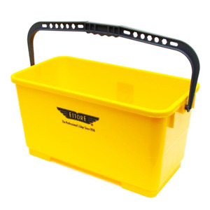 Ettore 6 Gallon Super Bucket for Window Cleaning & Washing