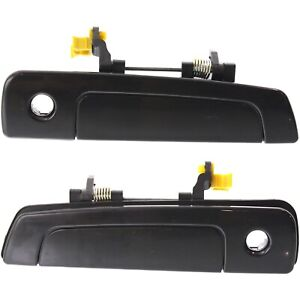 Door Handle Set For 2001-2005 Chrysler Sebring 97-02 Mirage Front Outer 2Pc