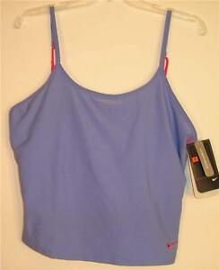NEW NIKE Dry Fit Womens Training Fitness Dance Tank Top Shirt XL 16-18  NWT