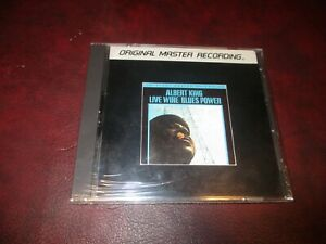 ALBERT KING LIVE WIRE BLUES POWER RARE MFSL SEALED ALUMINUM CD & STAX LP COMBO