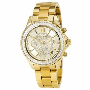 Michael Kors MK5810 Women's Gold Dial Gold Steel Bracelet Watch