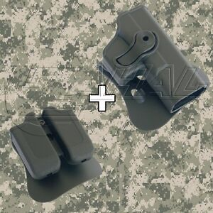 IMI Defense Glock 17  22  28  31 Roto Combo Holster Mag Pouch Kit - 1010 MP00